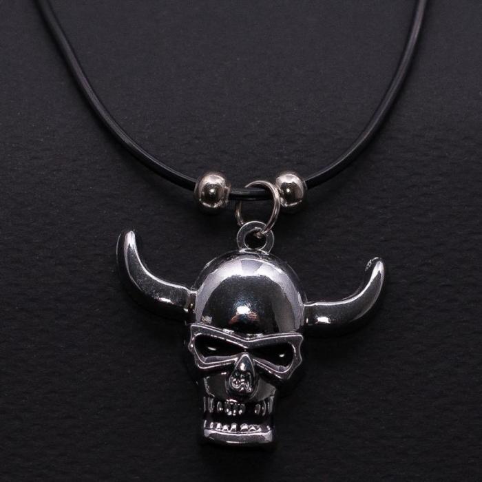 Medalion Horned Skull [0]
