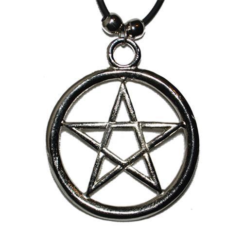 Medalion Pentagrama Mare Rotunjita 0