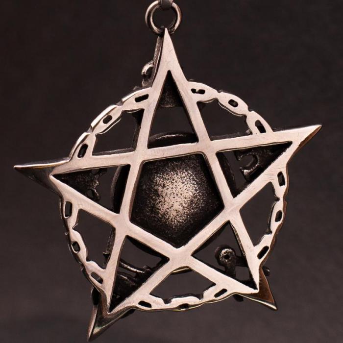 Medalion Stainless Steel - Eyepentagram [1]