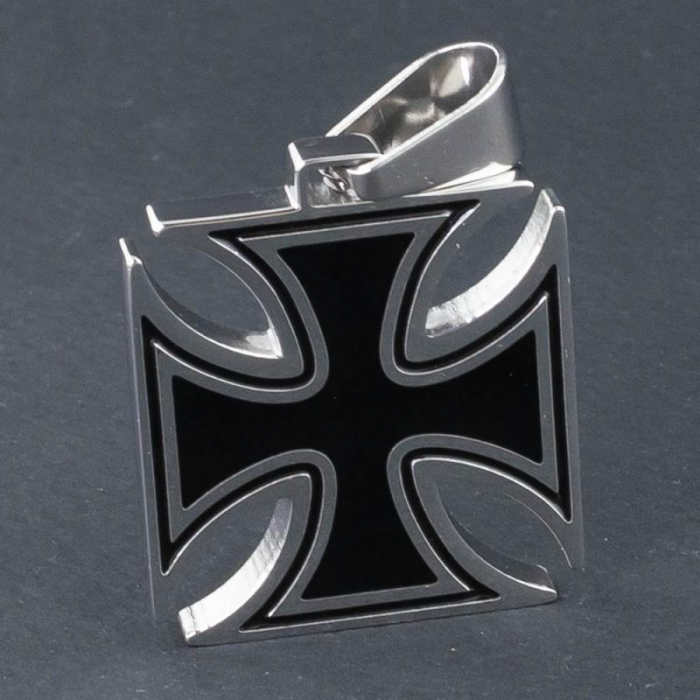 Medalion Stainless Steel - Iron Cross 0
