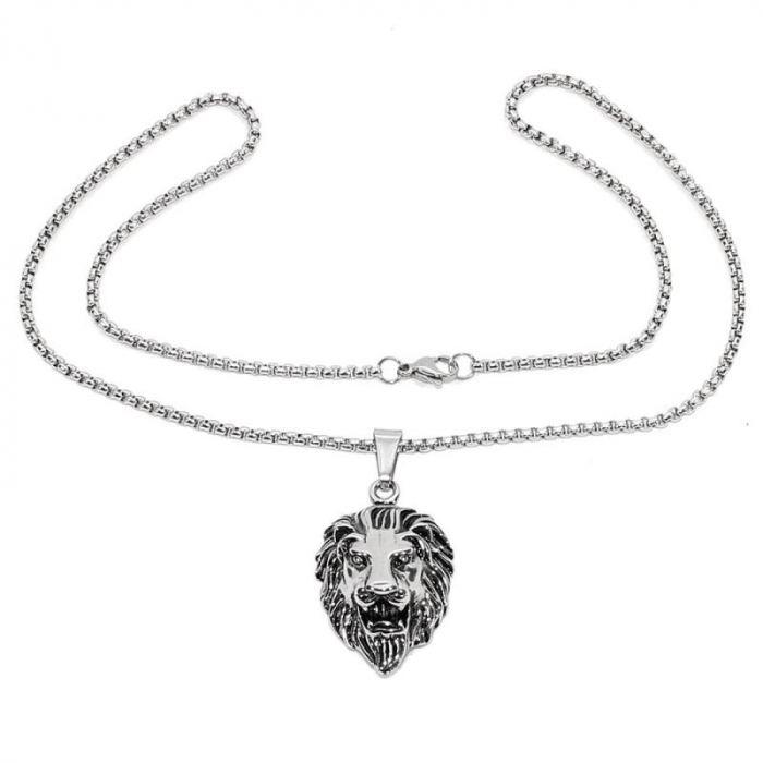 Medalion Stainless Steel - Lion 1