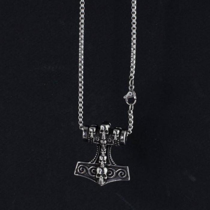 Medalion Stainless Steel - MJOLNIR 1