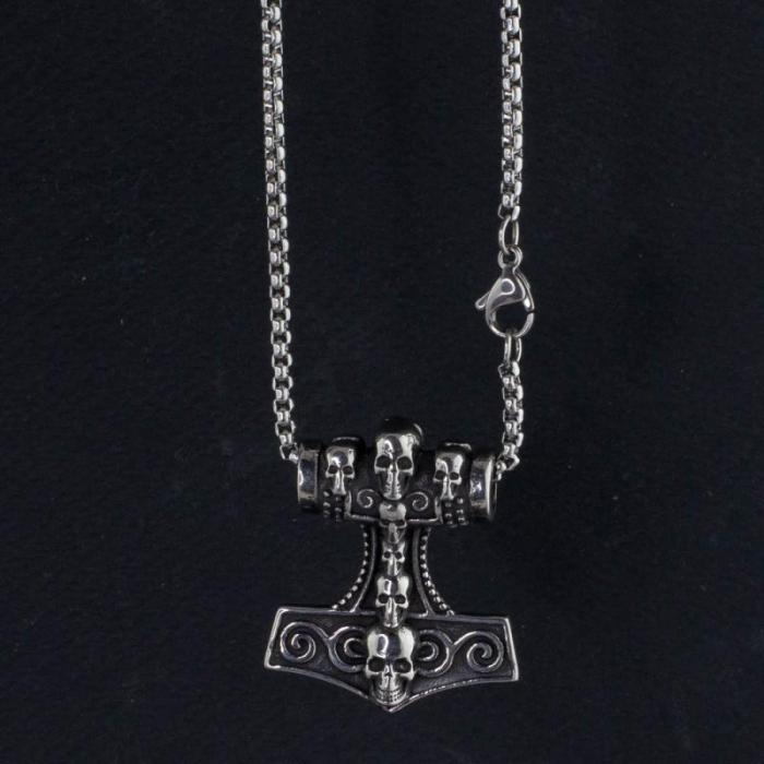 Medalion Stainless Steel - MJOLNIR 2