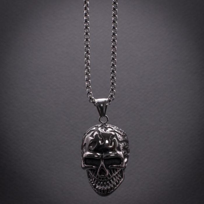 Medalion Stainless Steel - Skull_2 [0]