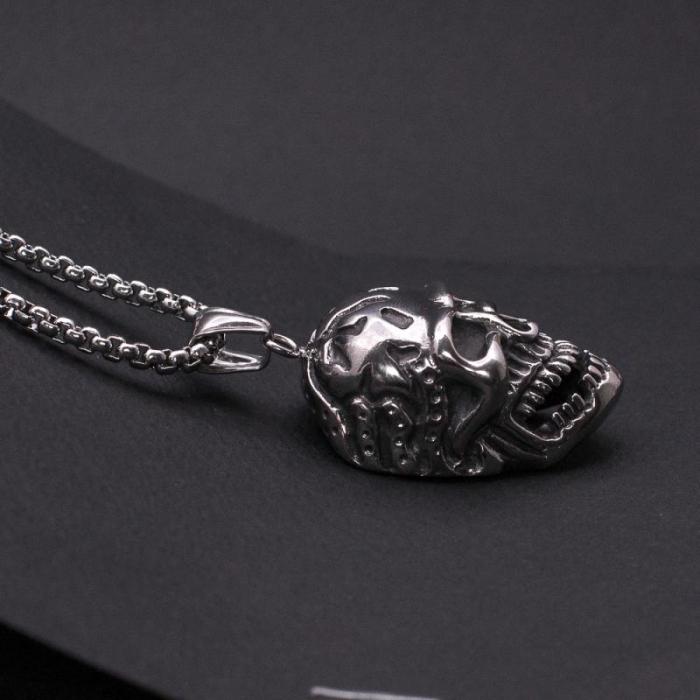 Medalion Stainless Steel - Skull_2 [1]