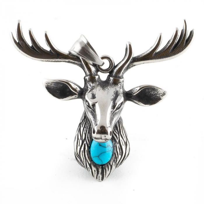 Medalion Stainless Steel - Stag 0