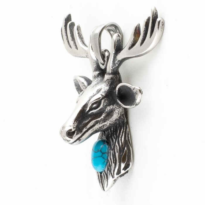 Medalion Stainless Steel - Stag 1