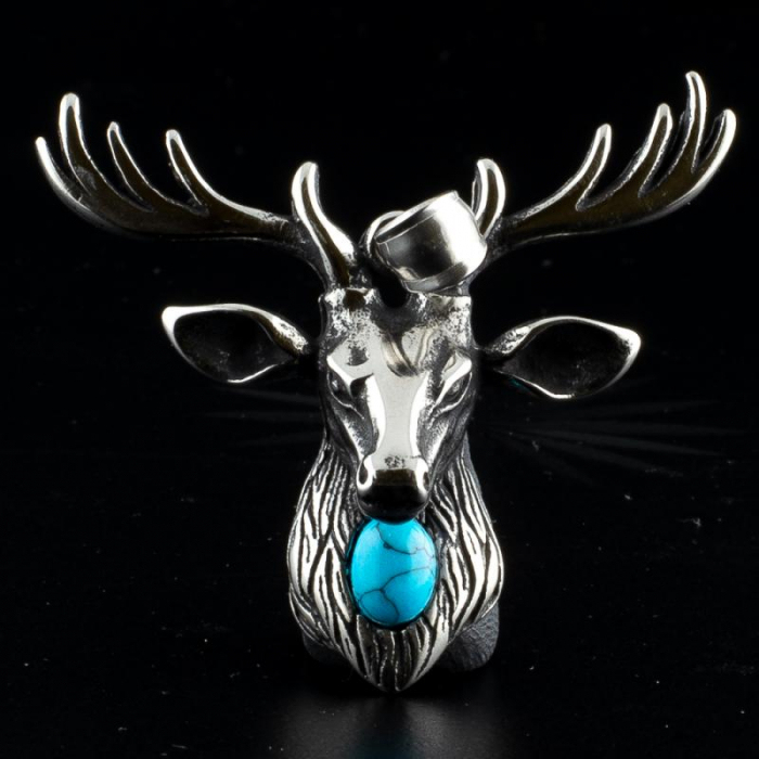 Medalion Stainless Steel - Stag 2