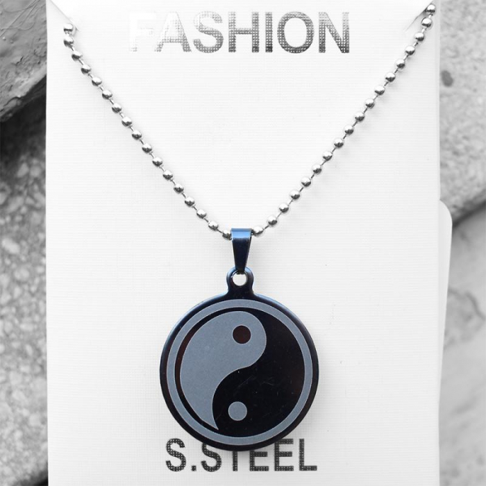 Medalion Stainless  - Ying Yang 0
