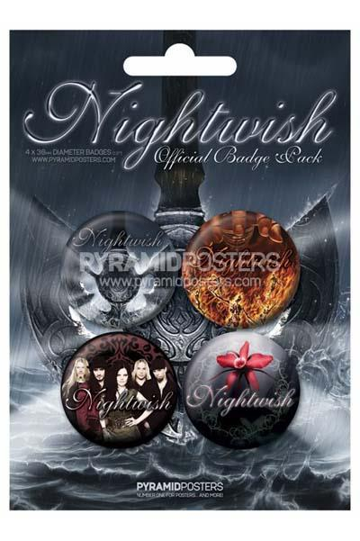 Official Badge Pack - NIGHTWISH (80175) 0