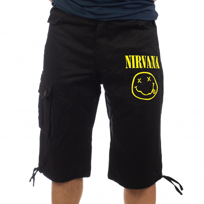 Pantaloni scurti denim 3/4 - Nirvana [0]