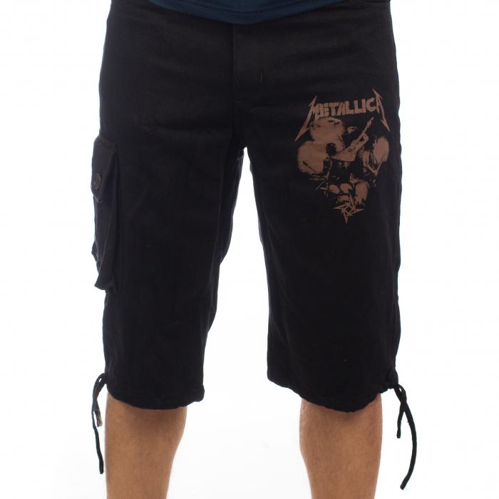 Pantaloni scurti denim 3/4 - Metallica [0]