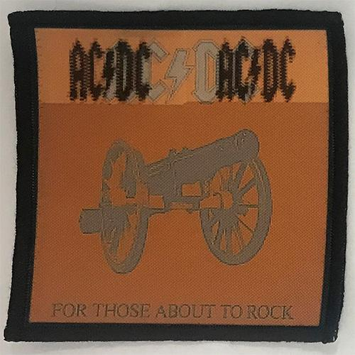 Patch AC/DC - For Those About To Rock 2 0