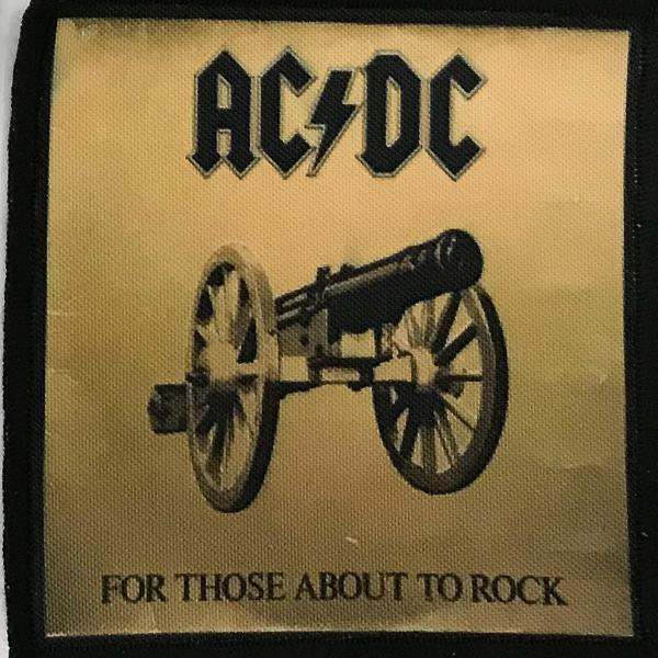 Patch AC/DC For Those About To Rock 3 0