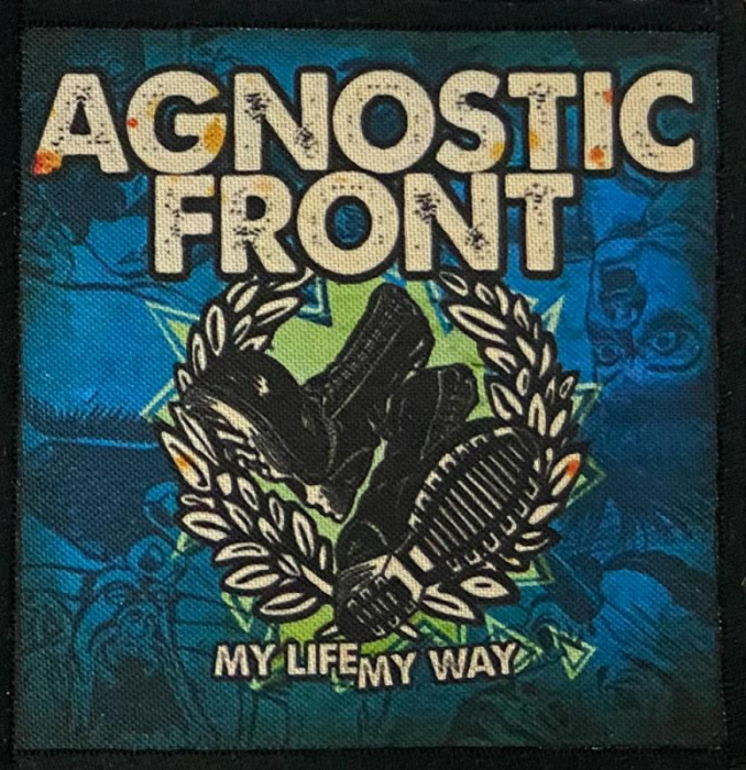 Patch Agnostic Front - My life My way 0