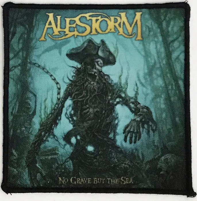 Patch Alestorm - No Grave but the Sea 0