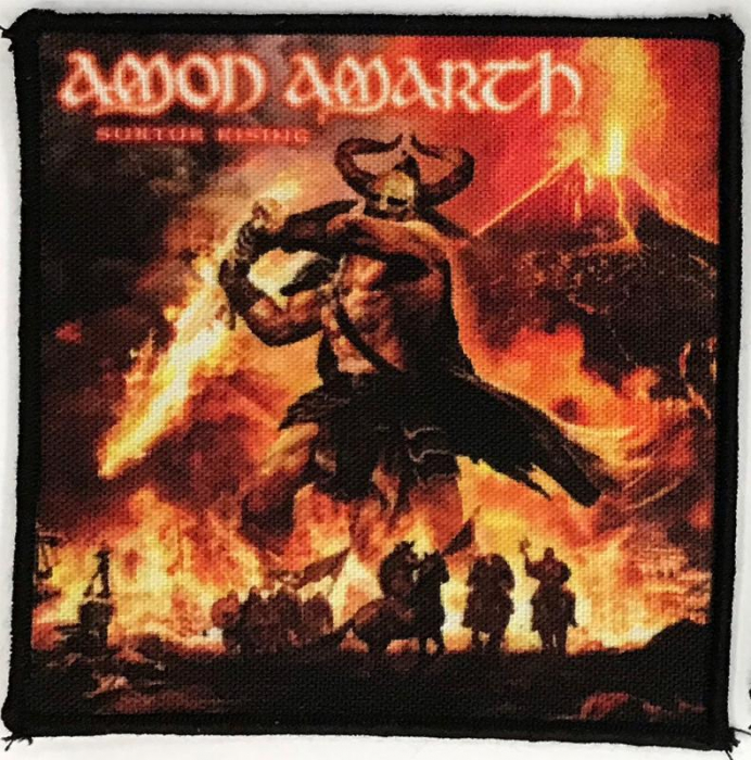 Patch Amon Amarth -Surtur Rising 0