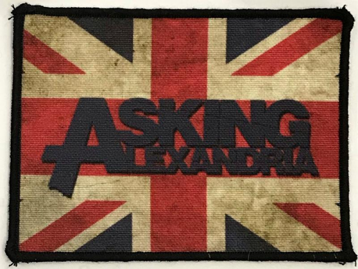 Patch Asking Alexandria - Flag 0