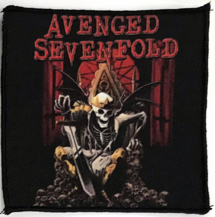 Patch Avenged Sevenfold - Hail To The King 0