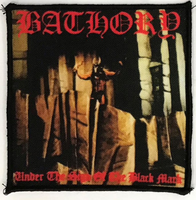 Patch Bathory - Under the Sign of the Black Mark 0