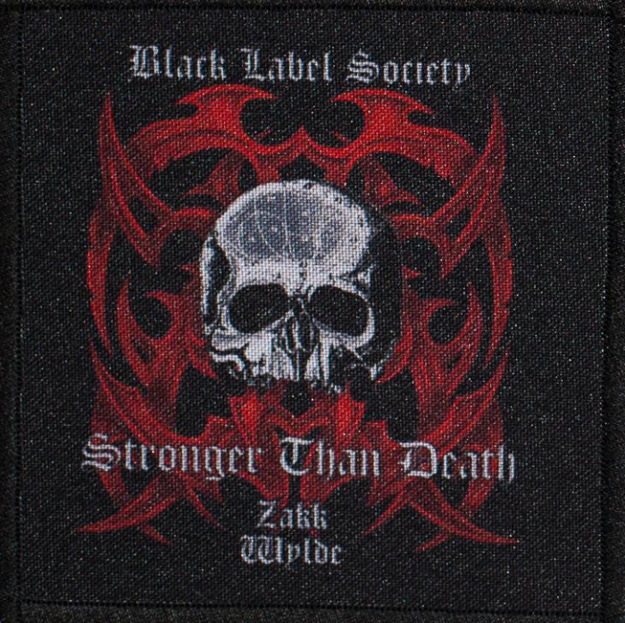 Patch Black Label Society Stronger Than Death 0