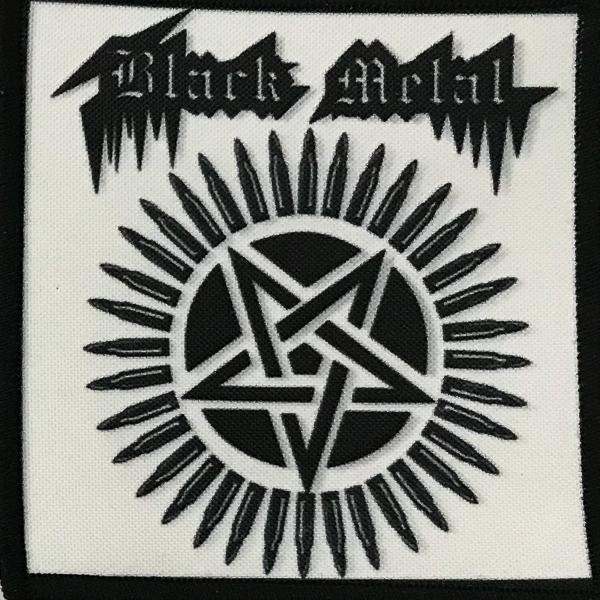 Patch Black Metal P451 0