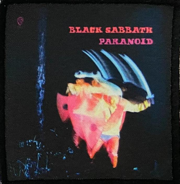 Patch Black Sabbath - Paranoid 0
