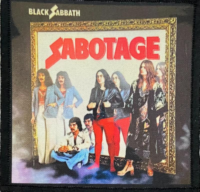 Patch Black Sabbath - Sabotage 0