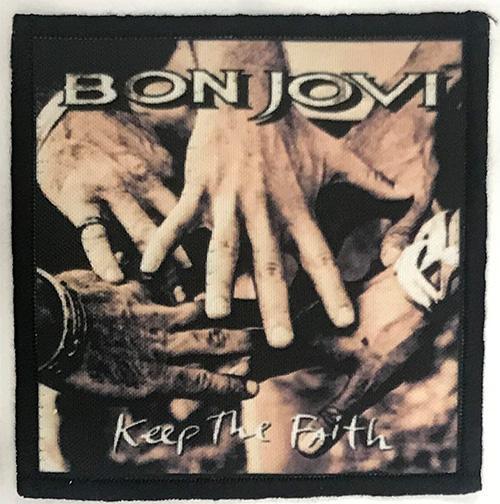 Patch Bon Jovi - Keep The Faith 0