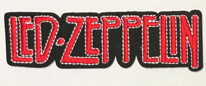 Patch BRODAT Led Zeppelin - Red Logo 0