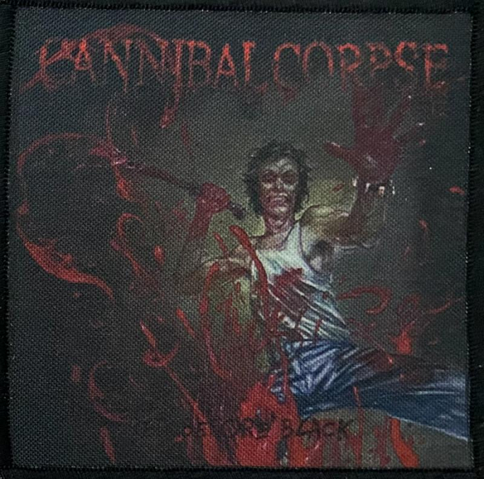 Patch Cannibal Corpse - Red before Black 0