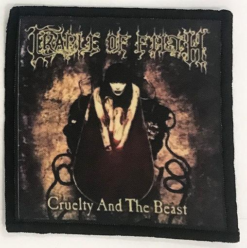 Patch Cradle Of Filth - Cruelty and the Beast 0