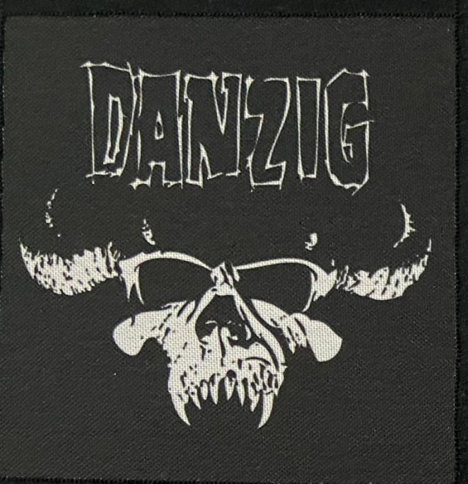 Patch Danzig - Skull 0