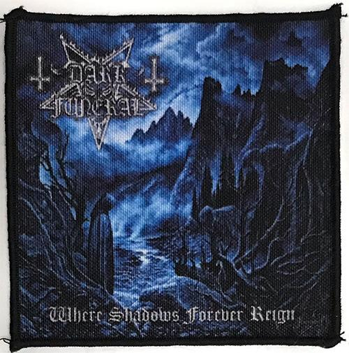 Patch Dark Funeral - Where Shadows Forever Reign 0