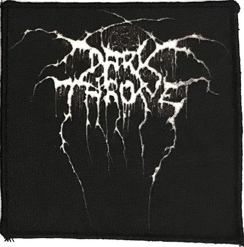 Patch Darkthrone - Logo 0