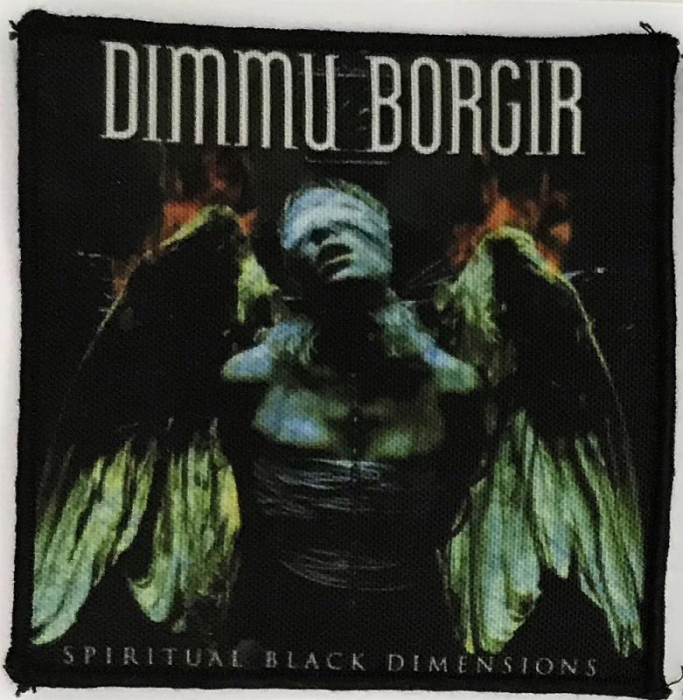 Patch Dimmu Borgir - Spiritual Black Dimensions 0