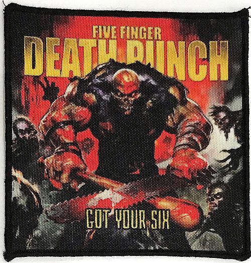 Patch Five Finger Death Punch - Got Your Six 0