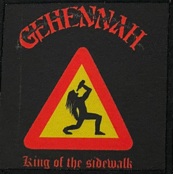 Patch Gehennah - King of the Sidewalk 0