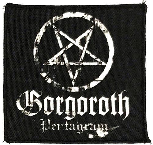 Patch Gorgoroth - Pentagram 0