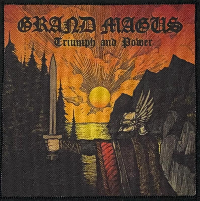 Patch Grand Magus - Triumph and Power 0