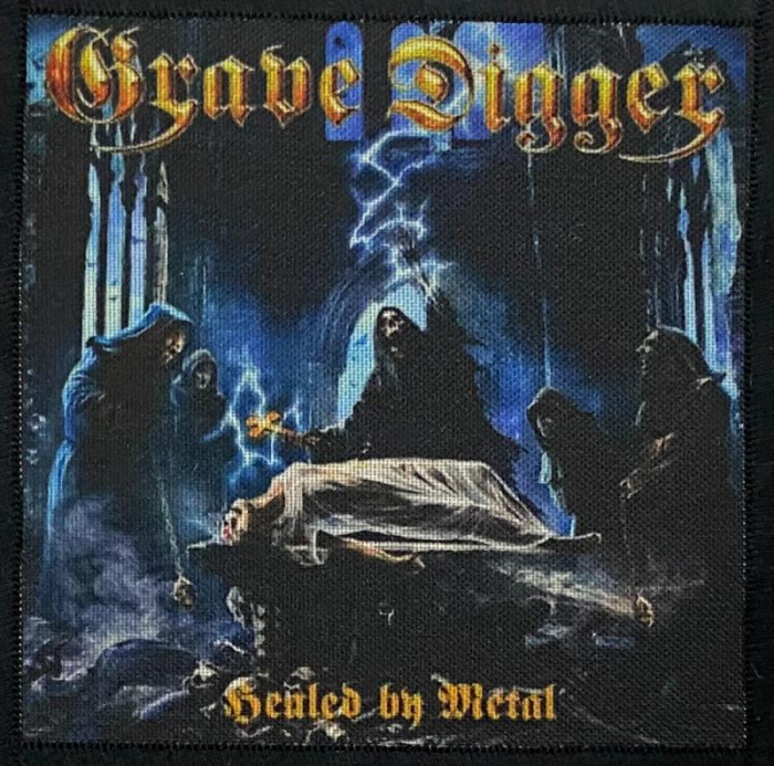Patch Grave Digger - Healed By Metal 0