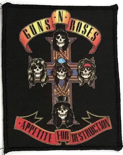 Patch Guns N Roses - Appetite For Destruction [0]