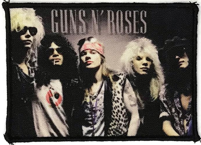 Patch Guns N Roses -  Band 0