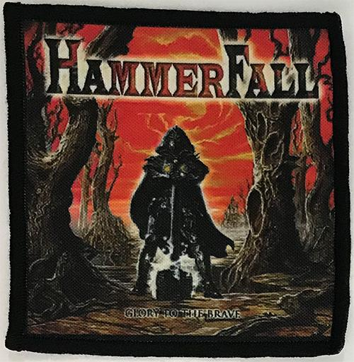 Patch HammerFall - Glory To The Brave 0