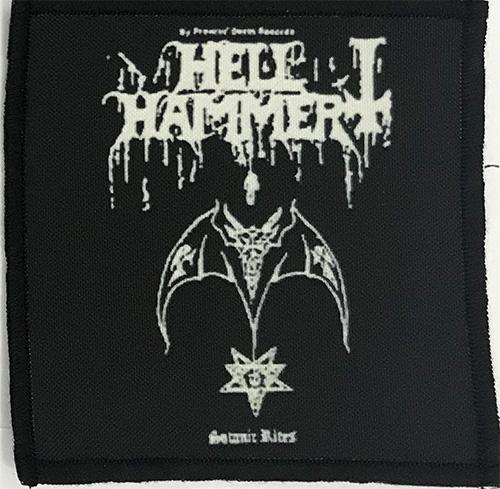 Patch HellHammer - Satanic Rites 2 0