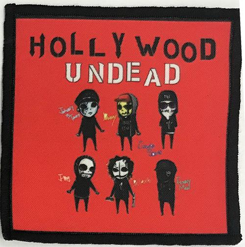 Patch Hollywood Undead - Red 0