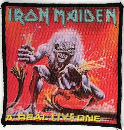 Patch Iron Maiden - A Real Live One 0