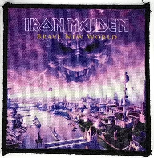 Patch Iron Maiden - Brave New World 0