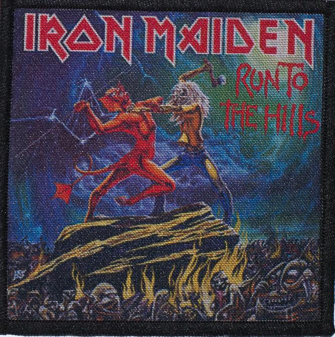 Patch Iron Maiden Run To The Hills 0