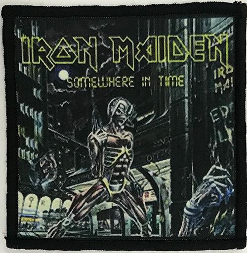 Patch Iron Maiden - Somewhere In Time 0